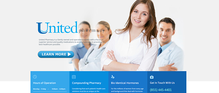 United Pharmacy Webdesign499