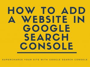 Add Site To Google